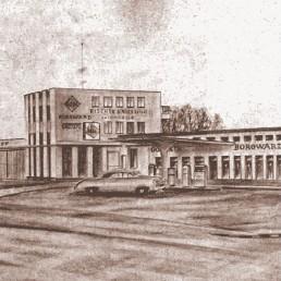 Architekturzeichnung Haus