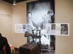 Ansicht Ausstellungsgestaltung