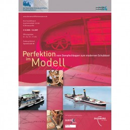 Plakat Perfektion im Modell