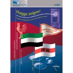 Plakat Flagge zeigen